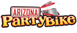 Arizona Party Bike Sticky Logo