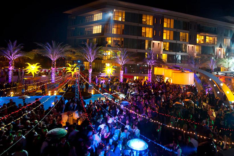 Shade Lounge Scottsdale birthday Party